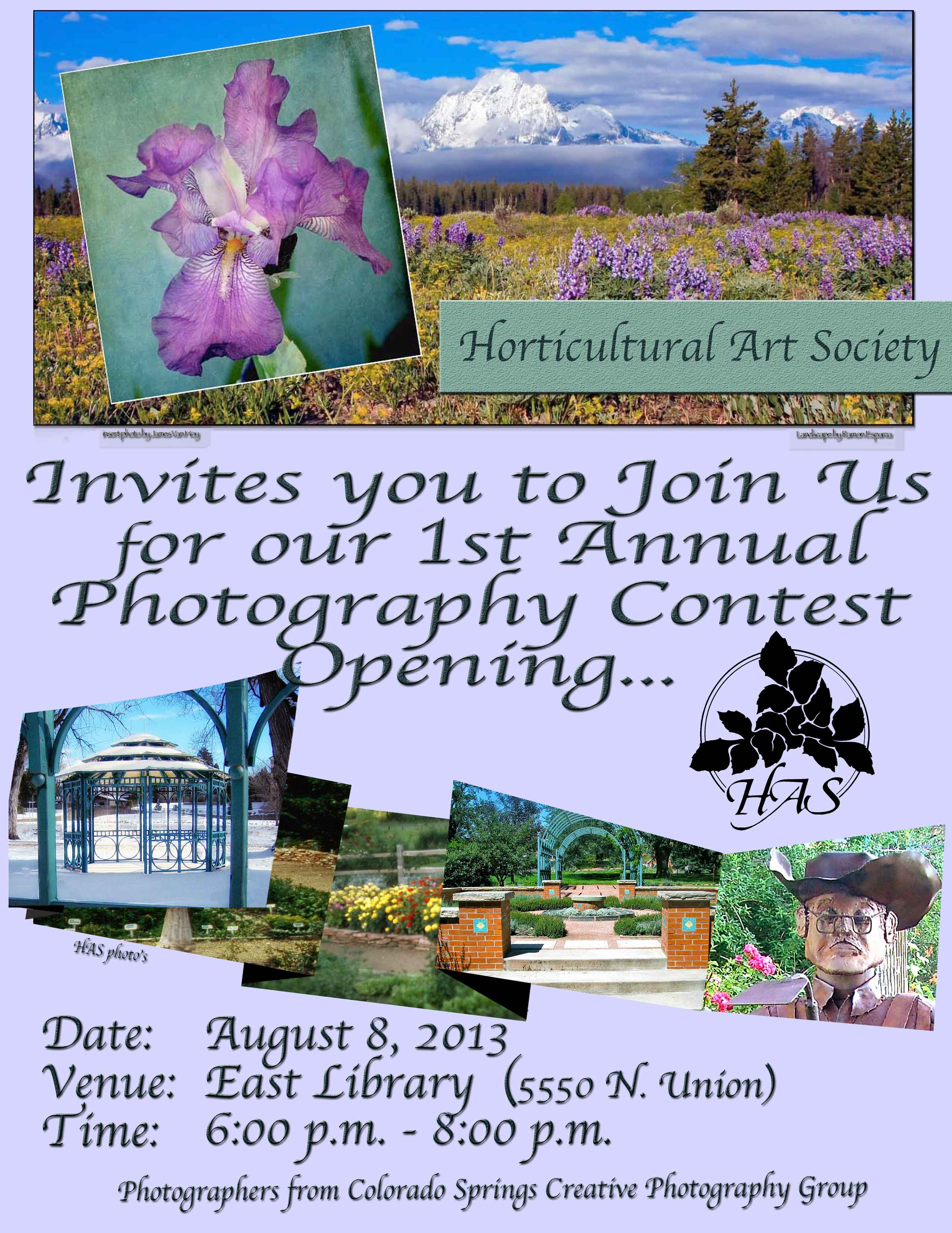 Horticultural Art Society Of Colorado Springs