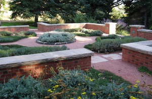 Thyme Garden within the Heritage Garden